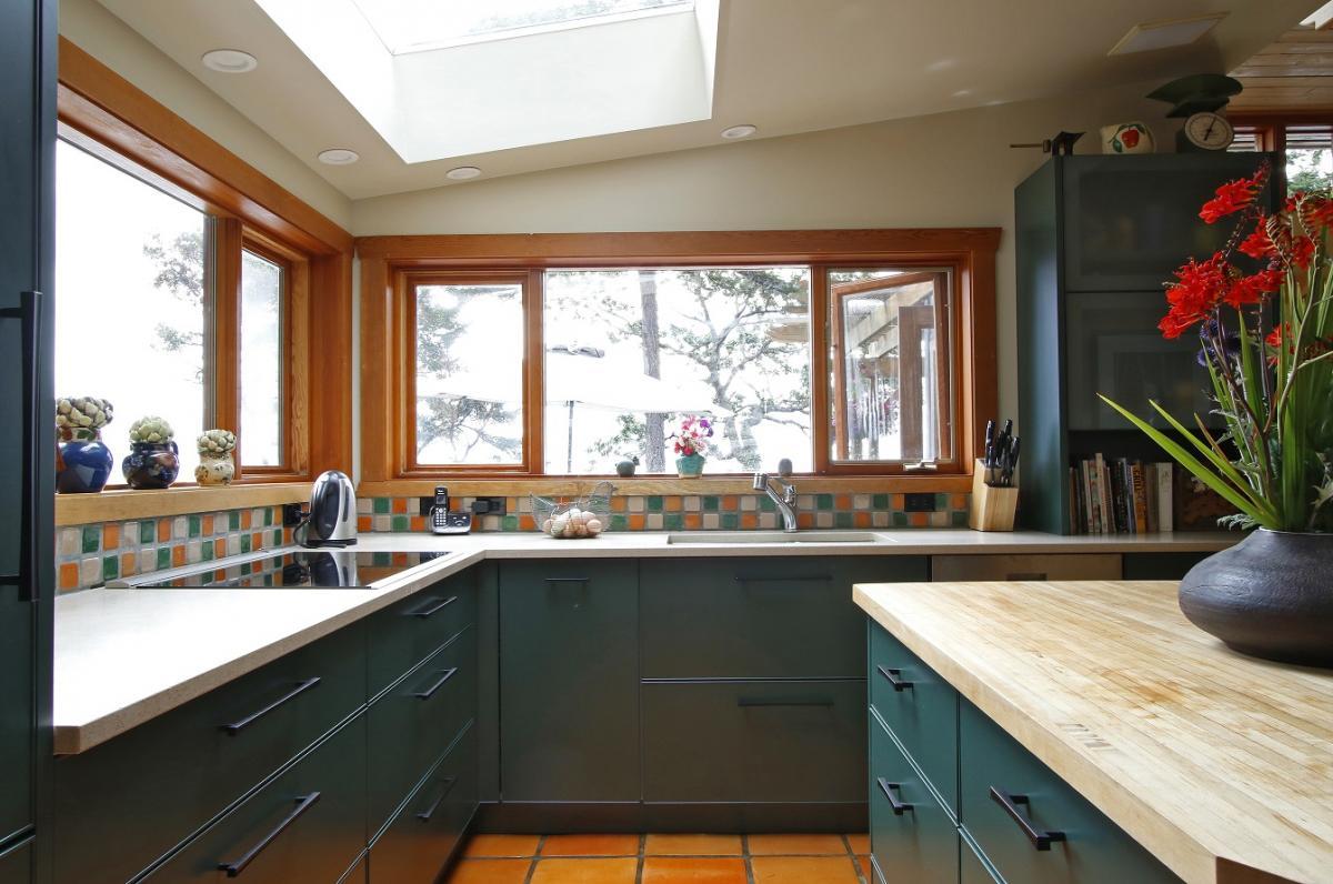 Schadstofffreie Nachhaltige Aluminiumküche   EternAL In Hartford Mist  Dunkelgrün Bei IMDesign